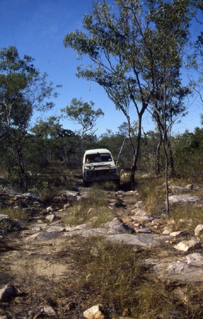 Hard track into King George Falls