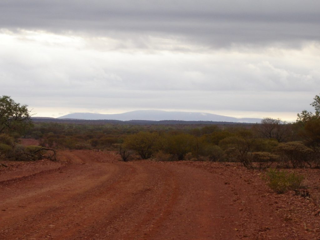 Mt Augustus in the distance