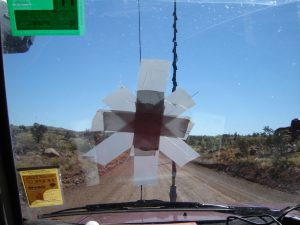 Busted windscreen