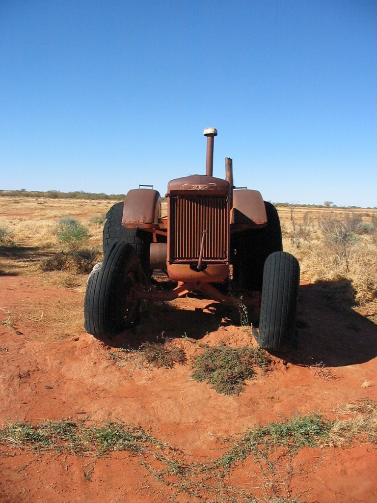 Old Tractor With Tracks : Outback tracks the adventures of willem and judith