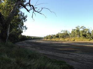 A dry Flinders River