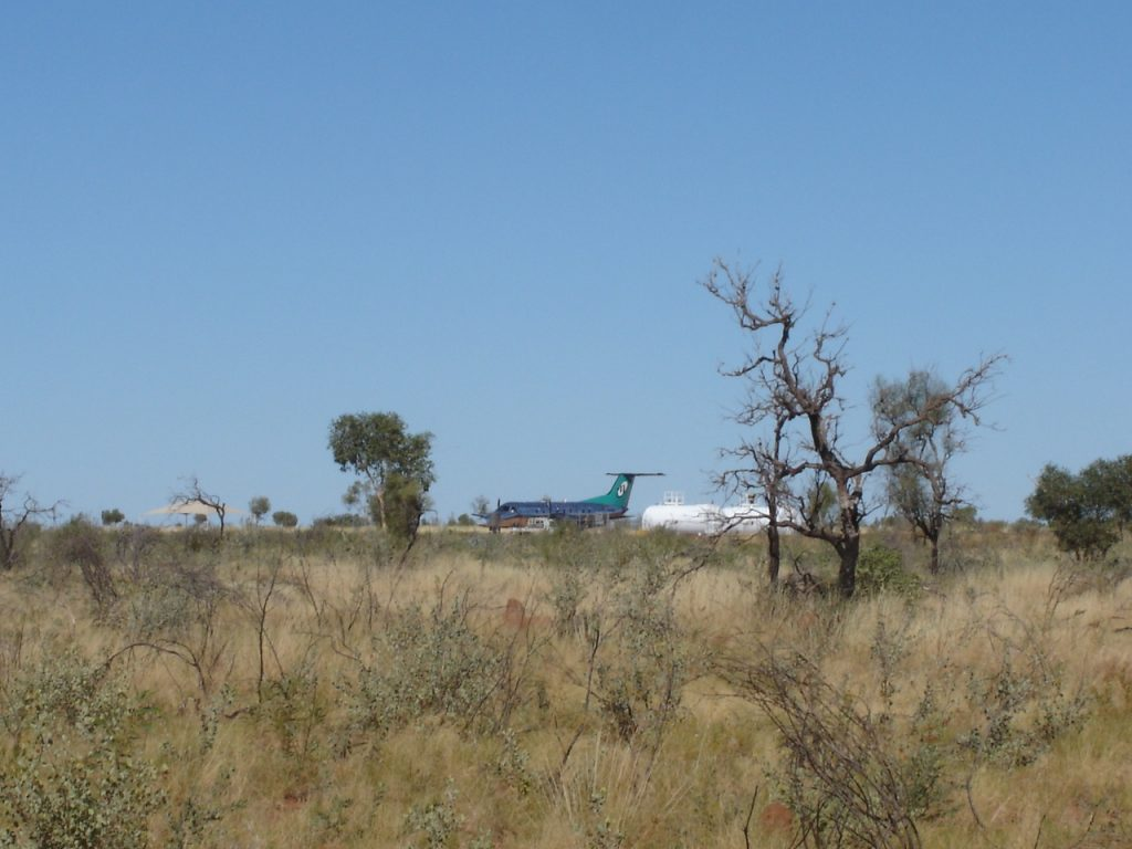 Jet on the Tanami