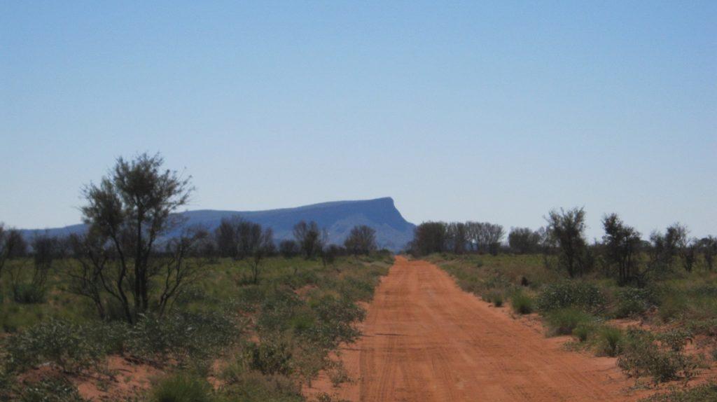 Sandy Blight Junction Road and Mt Leisler