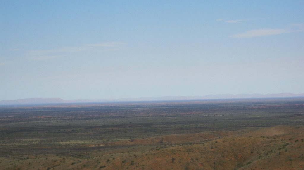 View from Sir Frederick Range