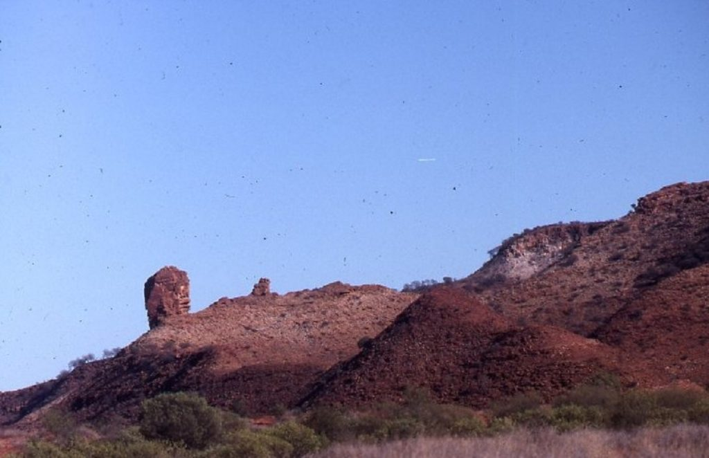 Camel Flat Pinnacle in Train Hills Range