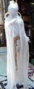 Lady in shawl, by Judith