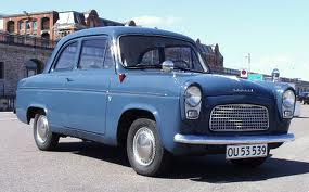 My very first car. 1958 Anglia 100E
