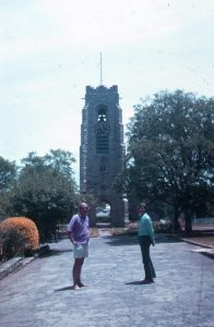 The Clocktower at St Andrews College 1973