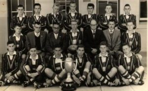 Victoria West High School First 15 Rugby Team Unbeaten Area Champions 1962