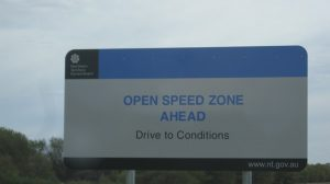 New speed limit
