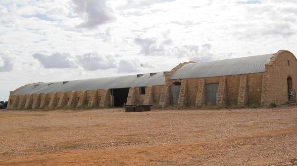 Cordillo Downs shearing shed