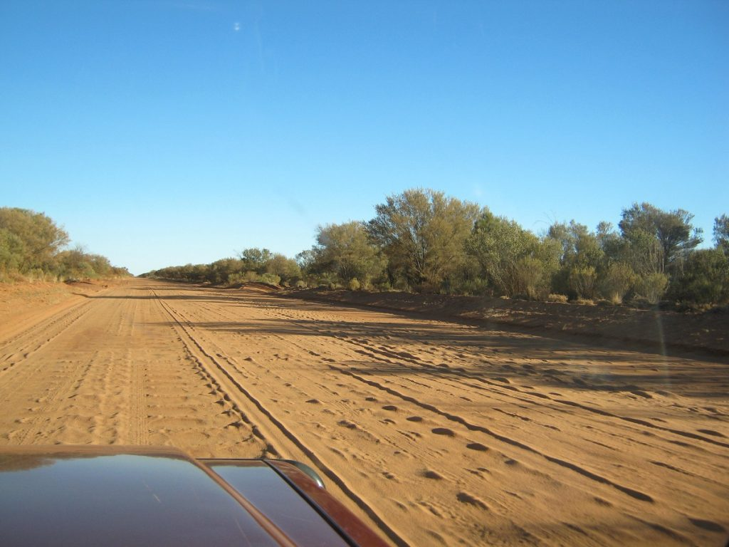 Typical Tanami Road