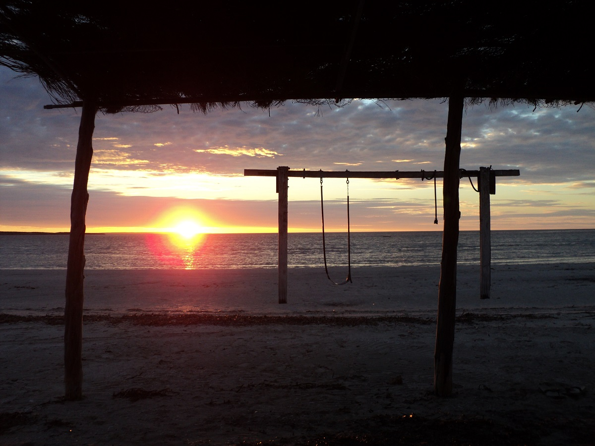 Perlubie Beach sunset