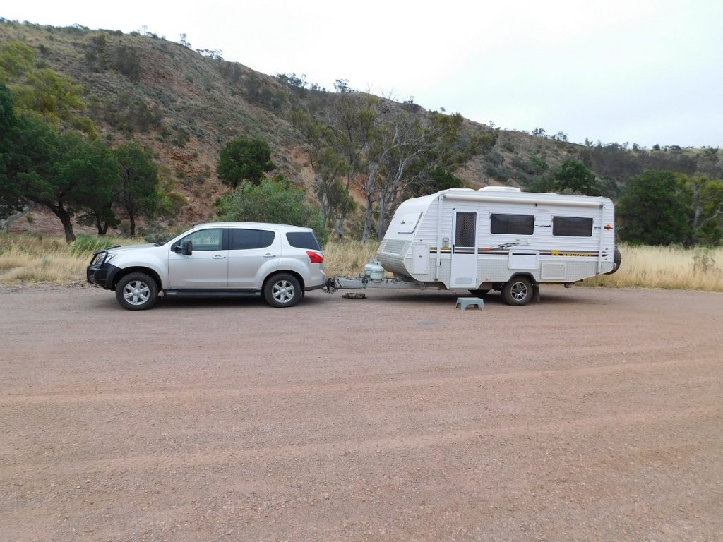 Isuzu MU X and Crusader X Country Caravan
