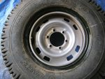 Apply Dishwashing liquid to bead of Tyre