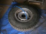 Pump tyre up to 40psi