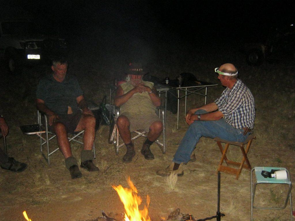 Campfire yarns