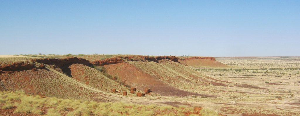 Palotine Escarpment near Balgo