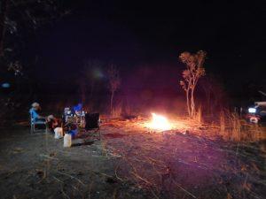 Last camp fire