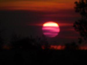 Barkly sunset