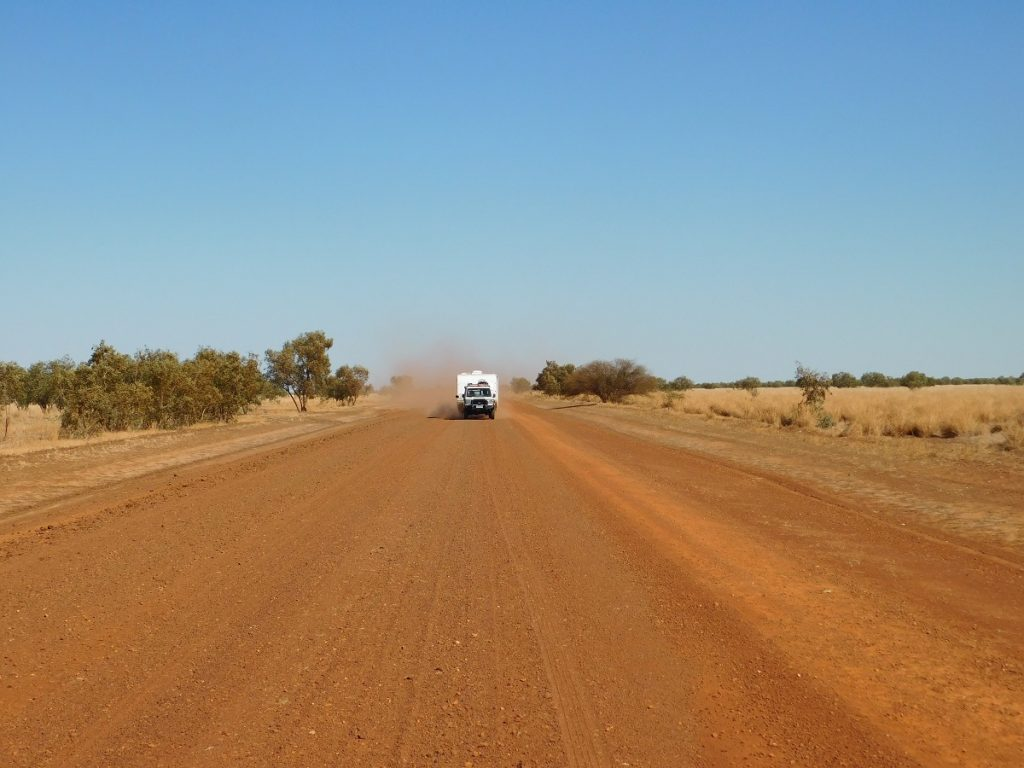 Driving the Barkly