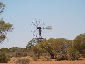 Windmill in decay