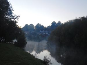 Morning mist Meander River
