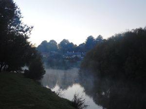 Morning mist Meander River